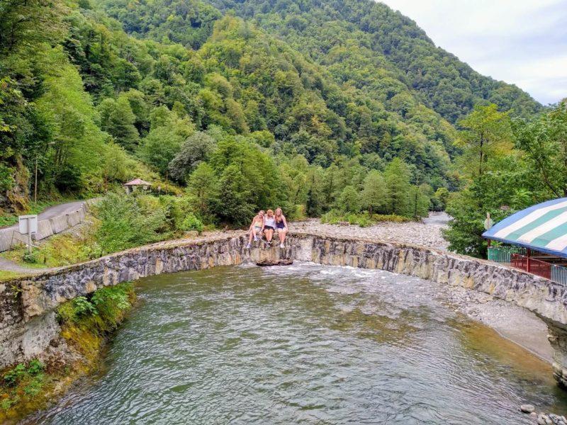 арочный мост батуми