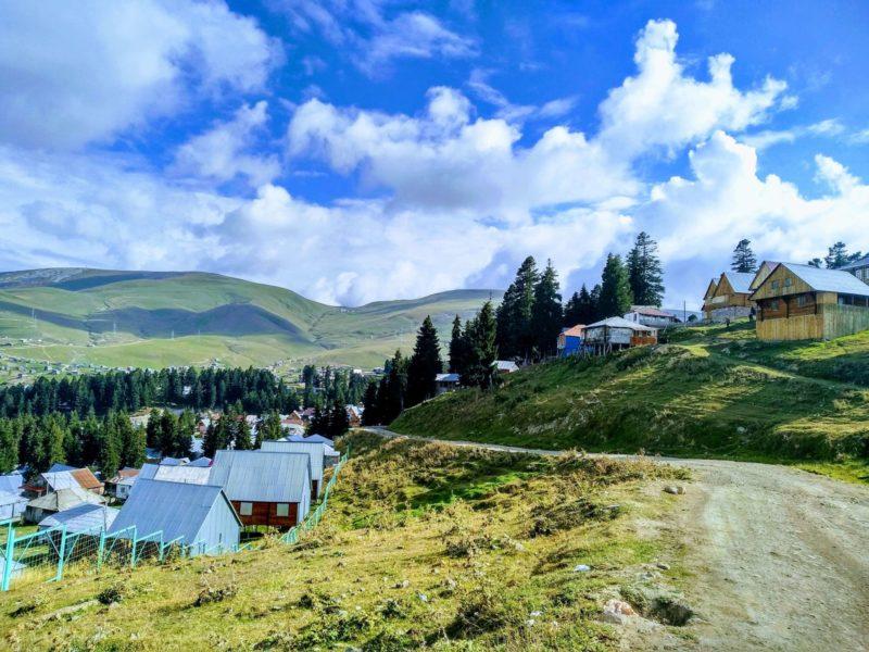 отдых на горном курорте грузия