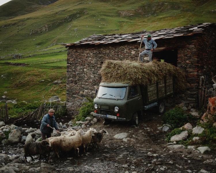 сельский туризм грузия