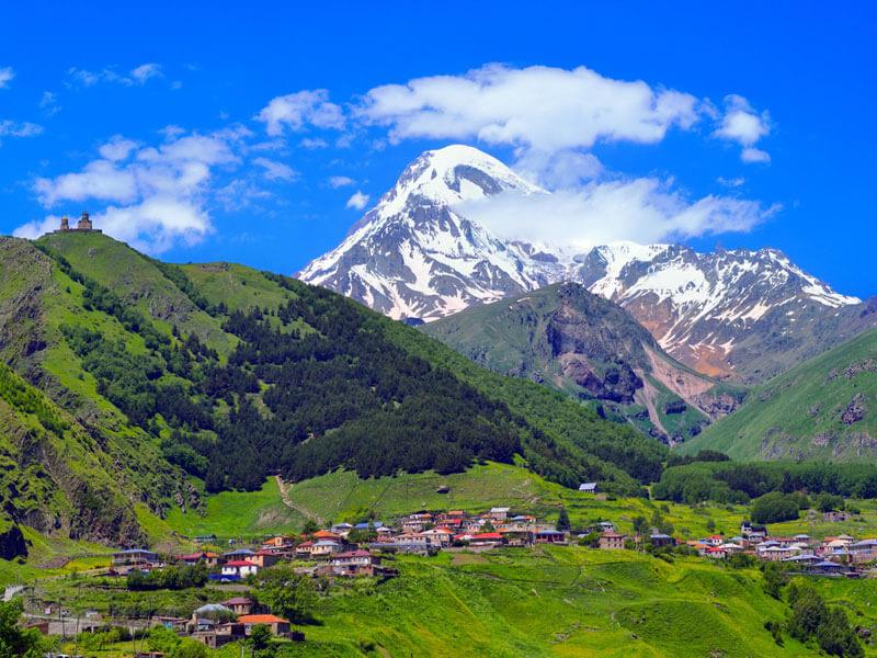 тур в горы грузия