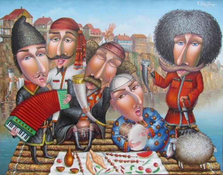 застолье тбилиси