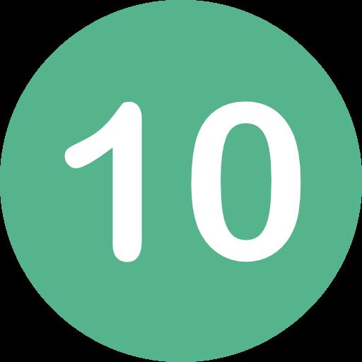 цифра десять